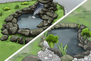 Budowa oczka wodnego